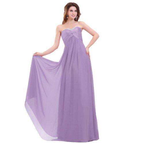 Lemandy - Robe -  Femme Violet - Lavender