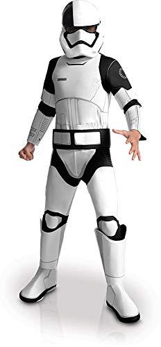 """(Rubie's Stormtrooper-Kostüm für Kinder, Offizielles Star Wars """"Die letzten Jedi"""" Kinderkostüm)"""