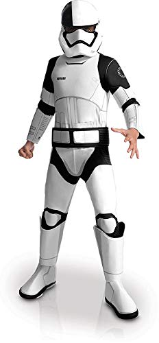 Rubie' s ufficiale star wars l' ultimo jedi esecuzione trooper childs costume, large 8–10anni, altezza 147cm