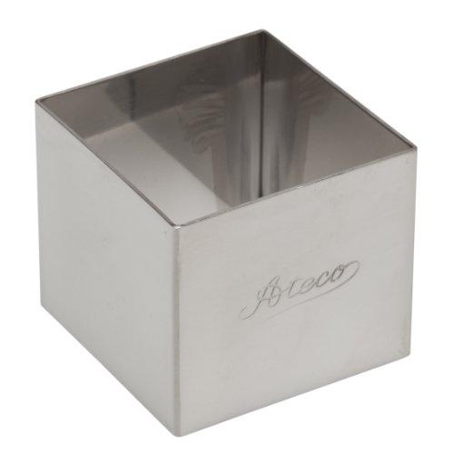 Ateco Quadratische Formen aus Edelstahl 2 x 1.75 Inch silber Ateco Cutter