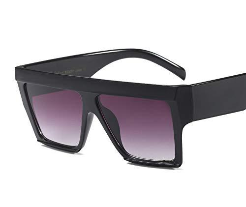 RQDBYO Große Sonnenbrille/Flut Sonnenbrille/Mode Gesicht Sonnenbrille/großes Scharnier hoher Qualität, lila, 150 * 46mm