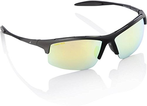 Fastrack UV Protected Sport Men\'s Sunglasses - (P354OR3|64|Smoke (Grey / Black) Color)