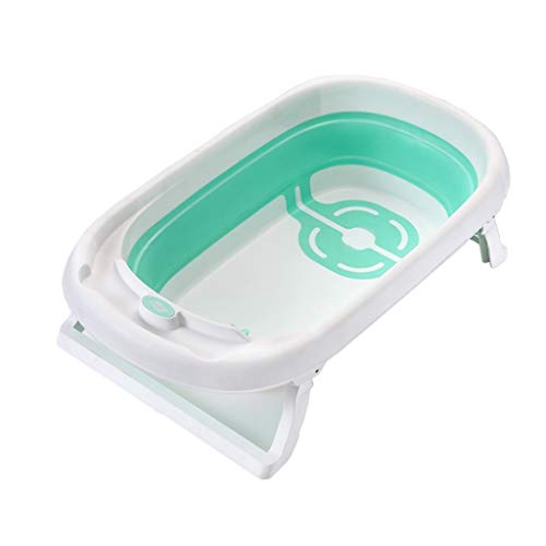 Hundebadewanne, Faltbar Katze Hund Universal Badewanne Medizinisches Bad Speicherbecken Passend Für Klein Mittlere Hunde Töpfe Ots (Farbe : Green)