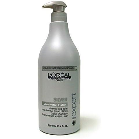 L'Oreal Professionnel Care&Styling SE Silver Champú - 750 ml