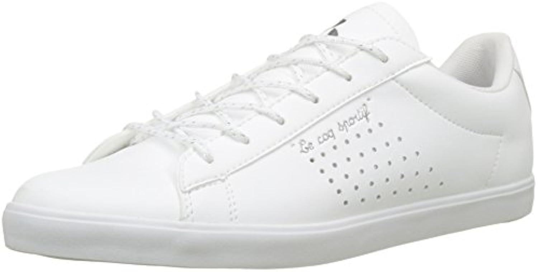 Le COQ Sportif Agate Metallic Optical White, Zapatillas para Mujer