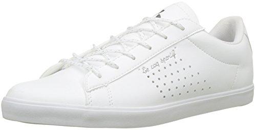 LE COQ SPORTIF Agate Metallic Optical White, Zapatillas para Mujer, Beige Blanc, 39 EU