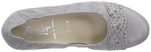 SemlerCleo - Scarpe con Tacco Donna Grigio (gris (015 - perle))