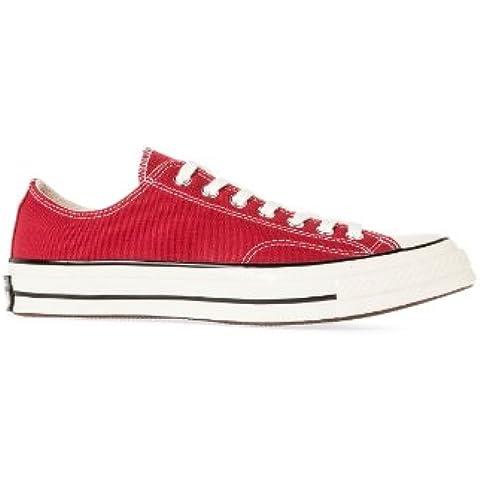 Converse CT 70 OX Crimson - Zapatillas de running de lona para mujer rojo rojo