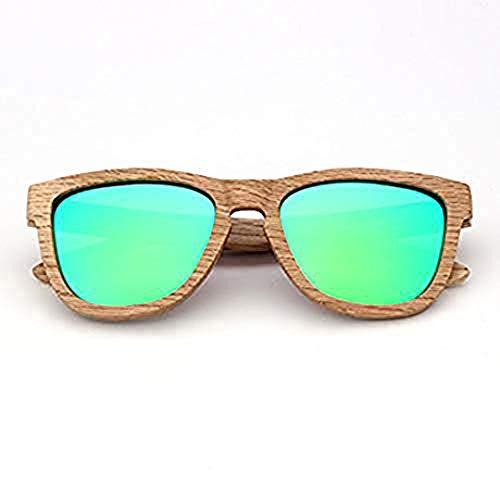 PZXY Holz Sonnenbrillen Dumu Personality Outdoor polarisierte UV-Schutzbrillen für Männer und Fraue