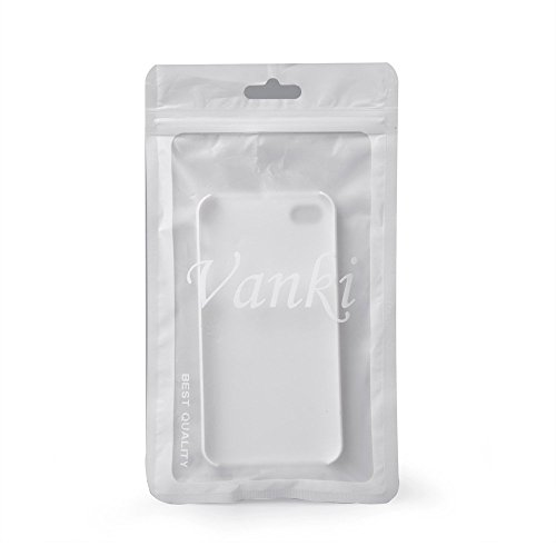 iPhone 5S 5SE 5 Hülle, Vanki® TPU Weiche Silikon Transparent mit Fußball Sportler Muster Schutzhülle Ultradünnen Anti-stoß Case für iPhone 5/5S/5SE (5) 5