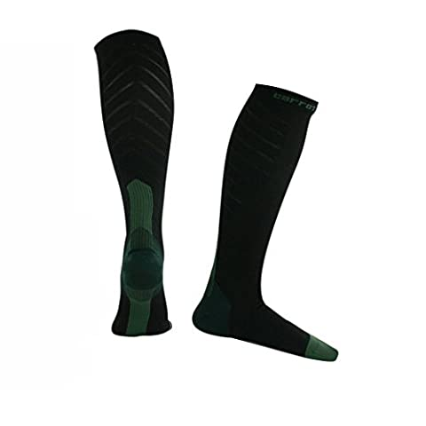 Veni Masee Hommes adultes Chaussettes de compression 20–30mmHg pour homme et femme Sports infirmières Vol Voyage de grossesse, mixte Homme femme,