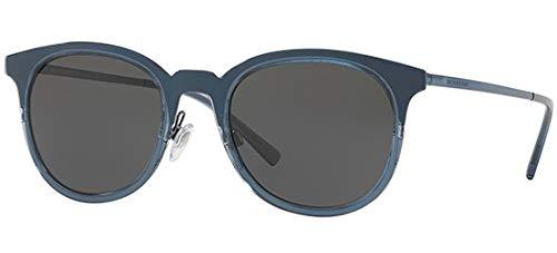 BURBERRY Herren 0Be3093 12485V 52 Sonnenbrille, Blau (Blute/Grey),
