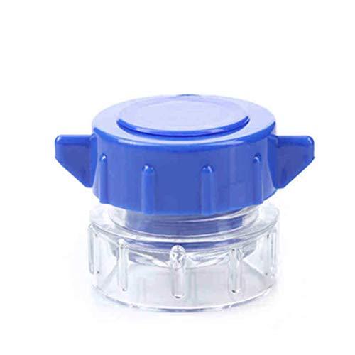 Supvox frantuma pillole portatile per schiacciamento della pillola per anziani bambini e pet (blu)