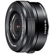 Sony SELP1650, Standard-Zoom-Objektiv (16-50 mm, F3,5–5,6 OSS, E-Mount APS-C, geeignet für A5000/ A5100/ A6000 Serien& Nex) schwarz