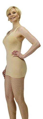 Slim N Lift Miederhemd Mieder Shapewear Bauchweg Hemd Figurformer Bodyshaper (L = 38) - Shaper Slim N Lift Body