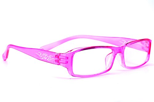 NEW UNISEX (Damen Herren) Flower Blumen Retro Vintage Lesebrille Brille +0.50 +0.75 +1.0 +1.5 +2.0 +2.5 +3.00 +4.00 Reading glasses Morefaz(TM) (+3.00, Pink) Sexy Pink Kitty