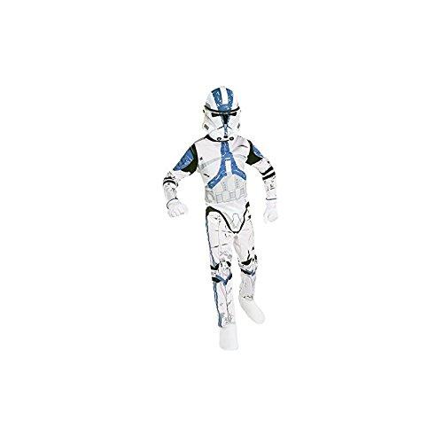 Star Wars 501 Kostüm - 501st Clone Trooper Kinderkostüm aus Star Wars, Größe:M