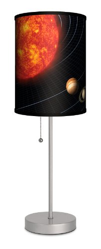 (verschiedenen–Solar System Sport Silber Lampe)