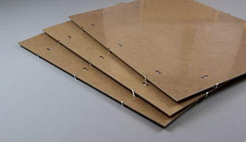 myposterframe Bildhalter Bildträger 60 x 120 cm Rahmenlos Größenwahl 120 x 60 cm Acrylglas klar 1...