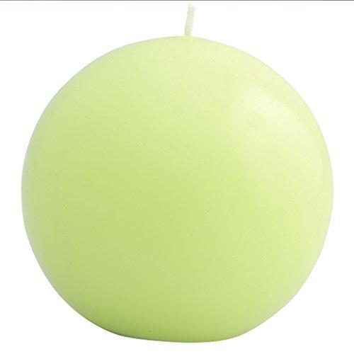 Vela redonda, color verde