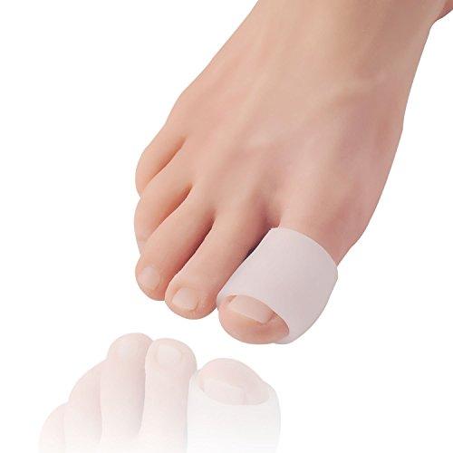Dr frederick's original fascette in gel per le dita dei piedi, confezione mista da 12 pezzi – formato small, medio e large – protettori per le dita dei piedi e separatori per calli, vesciche