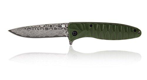 Ganzo Taschenmesser G620-G2 grün Gesamlänge: mm 205