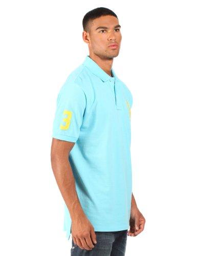 "Ralph Lauren - Herren Poloshirt ""Big Pony"" - Himmelblau Himmelblau"