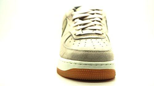 Nike Donna W Air Force 1 '07 PRM Suede scarpe sportive Grigio (Gris (String / Mtlc Gold Grain))