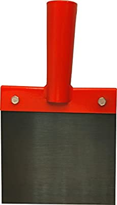Haromac Stoßscharre ohne Stiel, Blatt gehärtet min HRC 42, Blattstärke 1,0 mm, 150 mm, 19760015