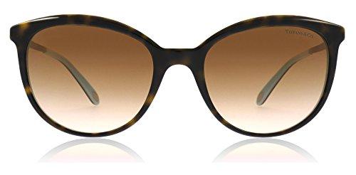 Tiffany & Co. Damen 0TY4117B 81343B 54 Sonnenbrille, Blau (Havana/Blue/Browngradient)