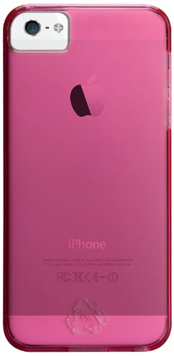 Case-Mate BT-rPET CM022601 Barely There Case for Apple iPhone 5 (Lipstick Pink)