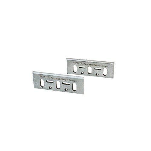 Makita D-16346-Lot de 2 lamesHSS type blister 82millimètres pour rabots 11001923b kp0800 kp0810 kp0810c