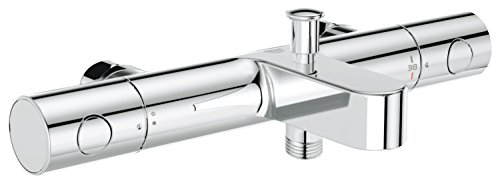 GROHE Mitigeur Thermostatique Bain/Douche Grohtherm 1000 Cosmopolitan M 34323002 , Argent (Import Allemagne)