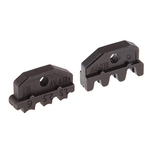 Pressbacken Crimpzange Einsatzbacken Matrizen Kabelschuhe Kabelschuhzange - A03B