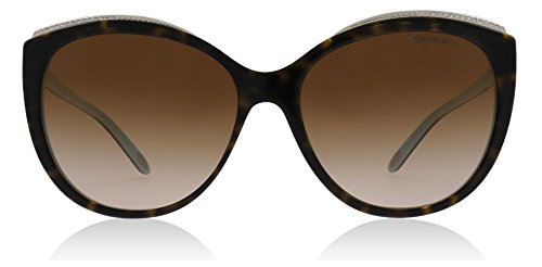 Tiffany & Co. Damen 0TY4134B 81343B 56 Sonnenbrille, Blau (Havana/Blue/Browngradient),
