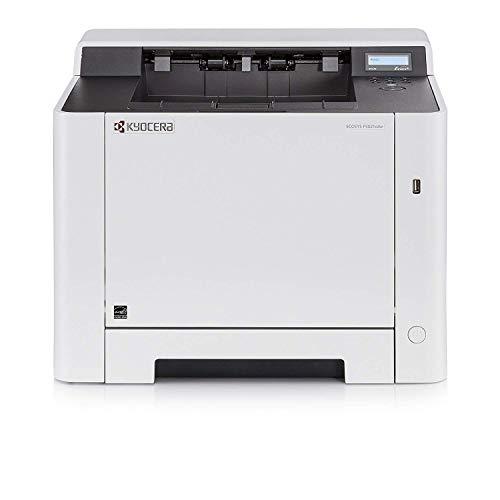 Kyocera Ecosys P5021cdn Farblaserdrucker , Laserdrucker für Farbe und Schwarz-Weiß , 21 Seiten pro Minute , Mobile-Print-Unterstützung für Smartphone und Tablet
