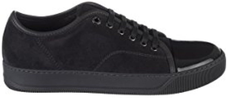 Unbekannt Lanvin Herren FMSKDBB1VBALP151818 Grau Leder Sneakers