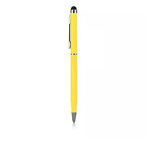 Price comparison product image C63® Yellow Touch Screen Stylus Pen with Biro for iPhone 5 5s 6 6s 7. Summer 2017