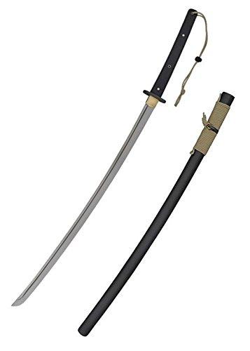 Hanwei SH2462 Tactical Katana 100,3 cm lang mit Scheide Hochwertiges Schwert LARP Samurai Verkauf ab 18 Jahren (Verkauf Anzüge Samurai Für)