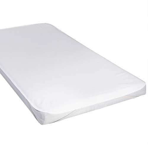 Coprimaterasso impermeabile culla coprimaterasso di cotone 60x120cm proteggi materasso per lettino di yoofoss
