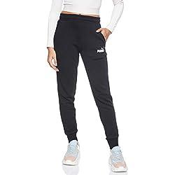 Puma ESS Logo Pants TR cl Pantalon de Jogging Homme, Black, S