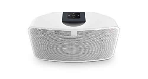BLUESOUND PULSE Mini 2i - Streaming-Client mit leistungsfähigen Lautsprechern-WEIß