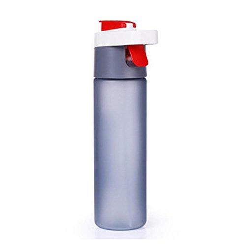 Bluelover 600Ml Exterior Plástico Botella De Agua