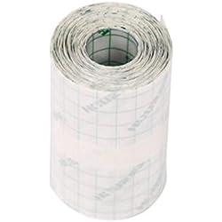 Healifty 1 rollo de cinta adhesiva médica, impermeable, hipoalergénica, 10 x 10 cm