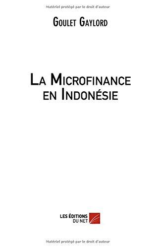 La Microfinance en Indonésie