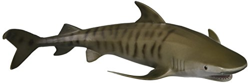 Collecta Sea Life Tiger Shark Spielzeug Figur - authentische handbemalt Modell -