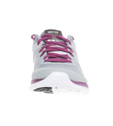 Nike Flex Run 2014 Wolf Grey 642767 003 Grau (Wolf Grey/Atomic Volt/Bright Grape/White)