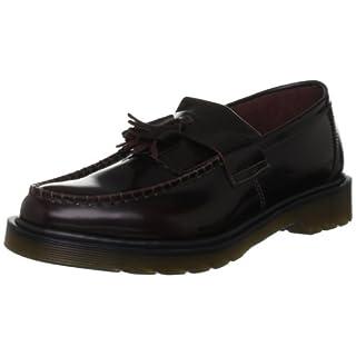 Dr. Martens Unisex Adults Adrian Slip-on Loafer, Red (Burgundy), 6 UK (39 EU)