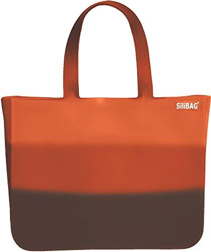 silibag Silikon-Tasche Orange - Orange