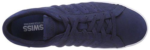K-Swiss  Belmont P, Sneakers basses hommes Bleu - Blau (Navy/White 401)